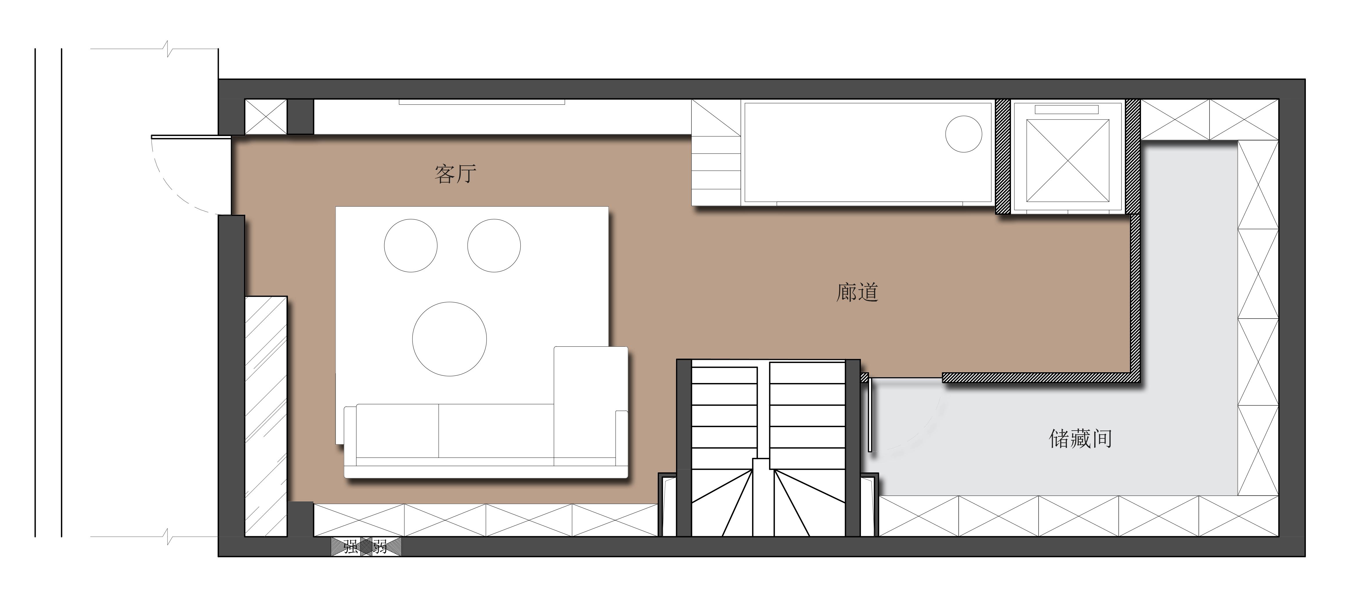 由山由水-450平米別墅-新中式風格裝修效果圖裝修設計理念