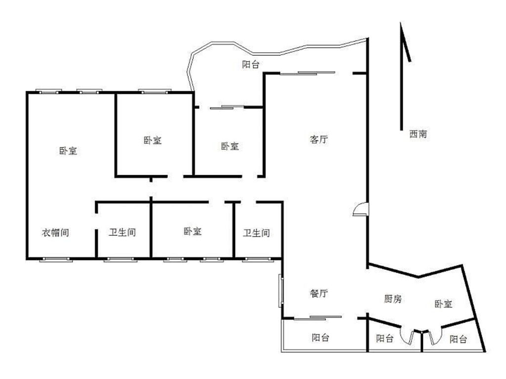 曦湾天馥-146平米-四居室-简欧风格装修设计理念