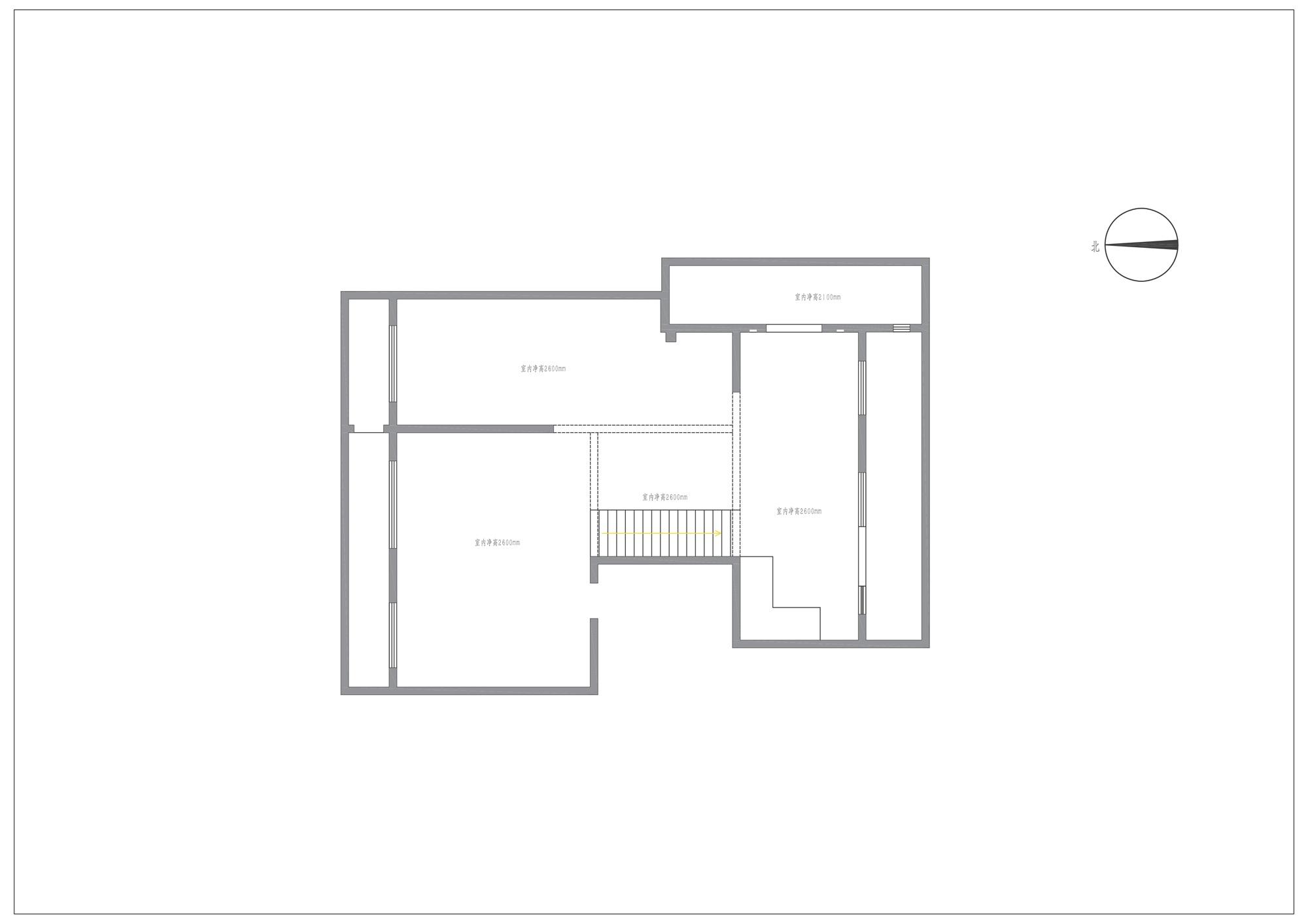 华瞰墨园-335平米-美式中式风格装修效果图装修设计理念