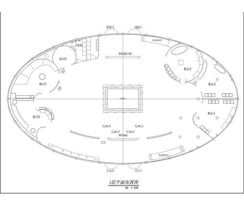 甘肃 平凉 再生资源展厅 现代简欧风格装修效果图 平层 1600平米装修设计理念