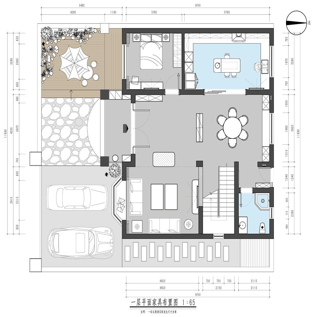 金洲别墅350平米现代装修效果图 金洲别墅350平米现代装修样板间装修设计理念