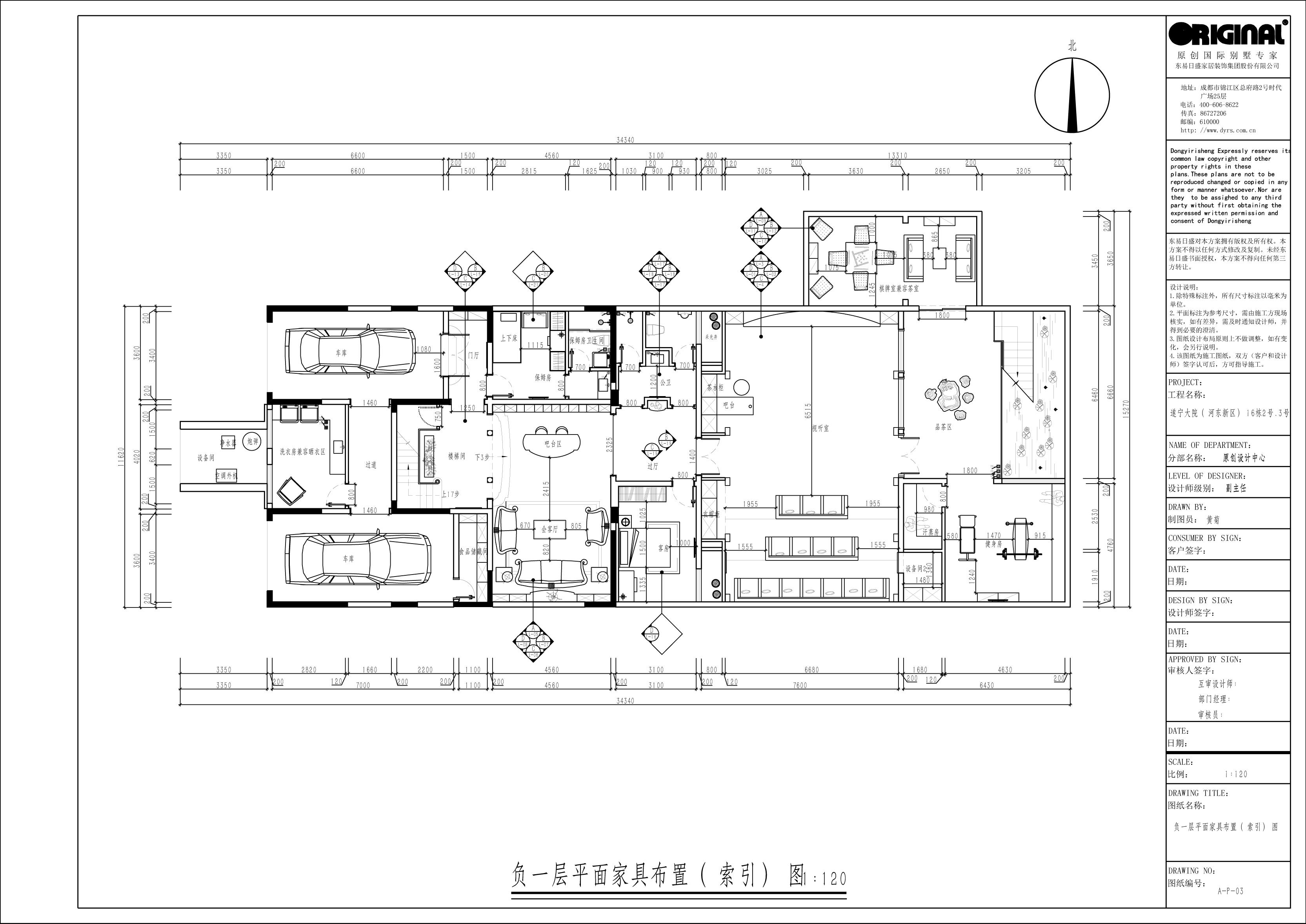 遂宁大院1000㎡别墅新古典风格装修效果图装修设计理念