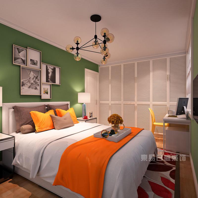 二手房装修-卧室效果图