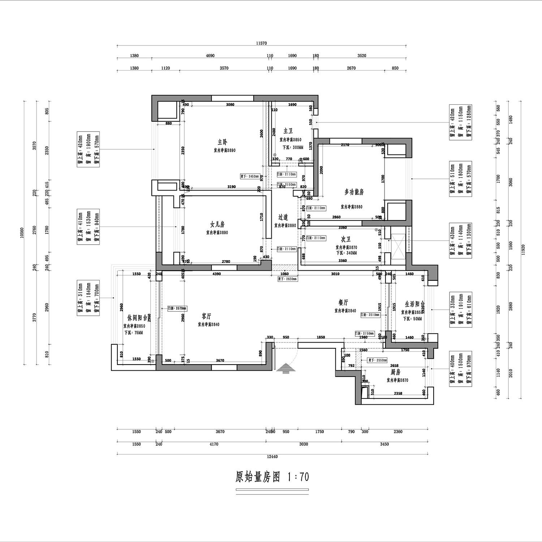 保利两河森林装修案例丨300㎡别墅美式风格装修实景图装修设计理念