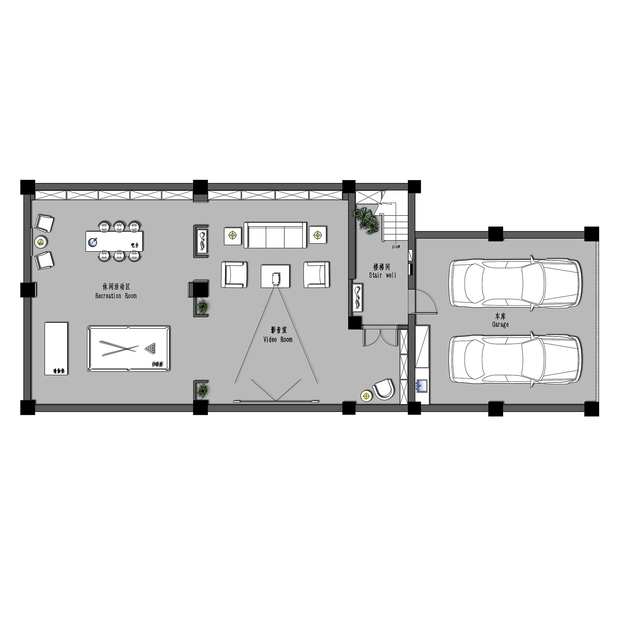 天和尚海格调-新中式 600平装修设计理念