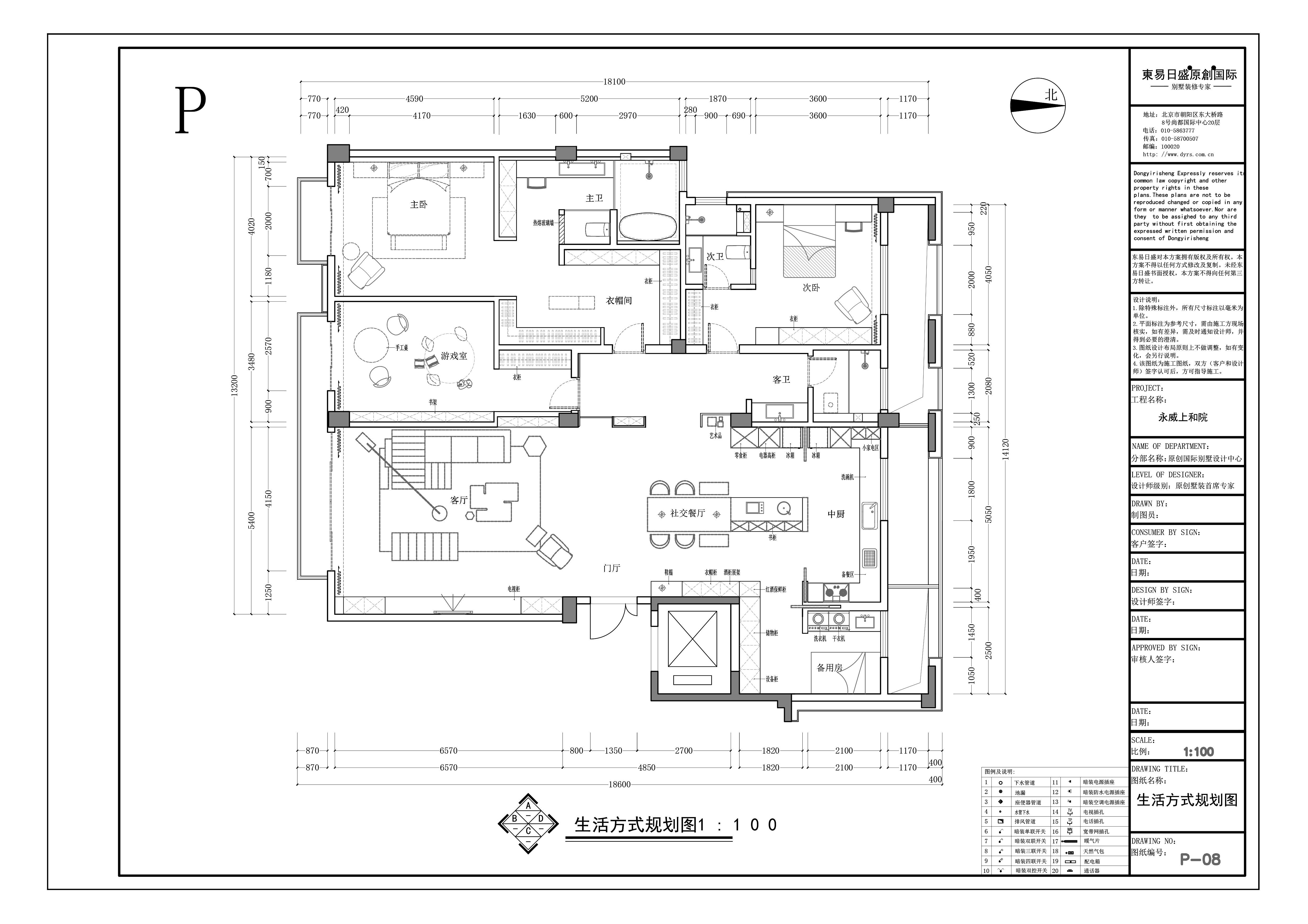 永威上和院250㎡现代台式风格装修效果图装修设计理念