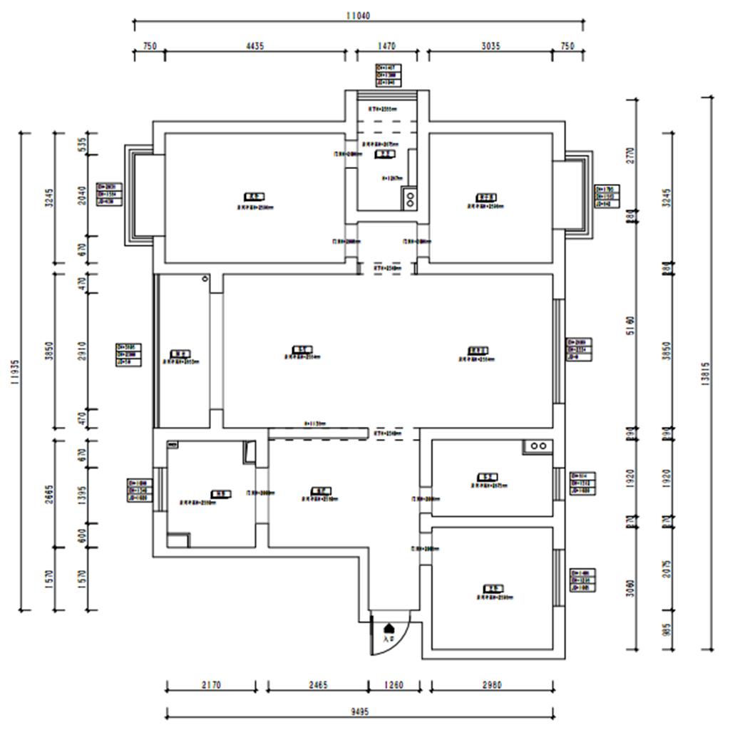 四季园140㎡北欧装修效果图 四季园140㎡上海家装案例装修设计理念