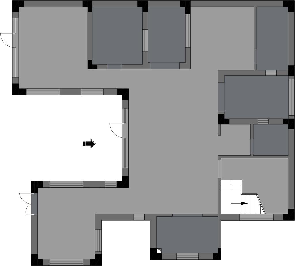 世茂龙湾252平米新中式风格装修效果图装修设计理念