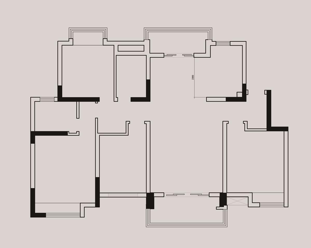 扬州锦苑144平现代北欧风格装修设计理念