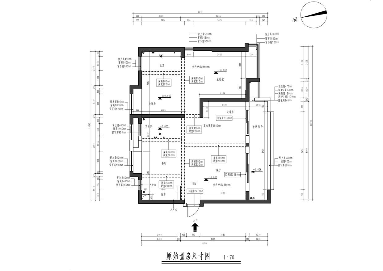 融侨悦城-日式风格-88平米装修设计理念