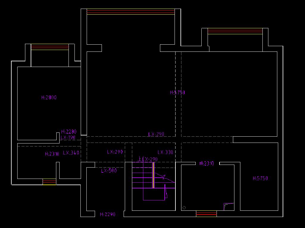 禹洲平湖秋月140平轻奢风格四室两厅装修效果图装修设计理念