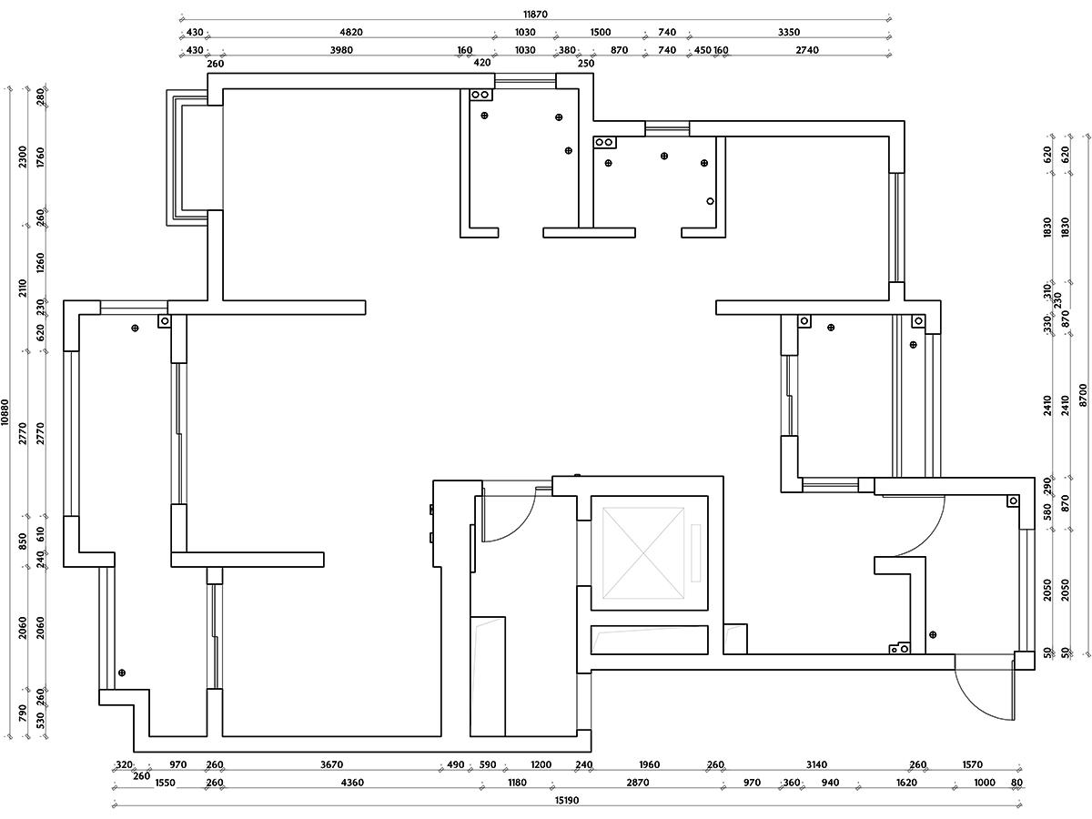 银亿东岸现代轻奢136平米装修设计理念