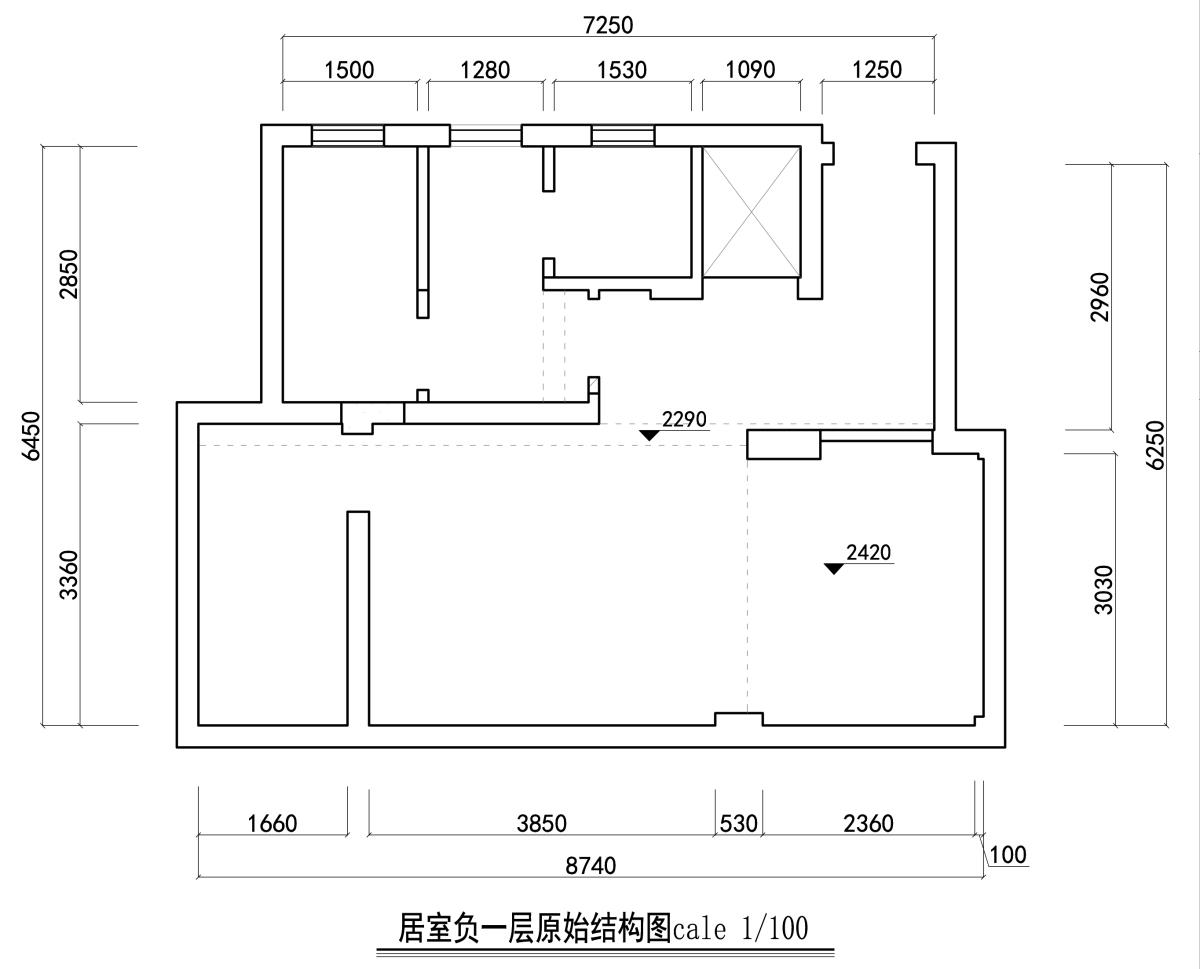 宏圖上水庭院270㎡-現代簡約裝修設計理念