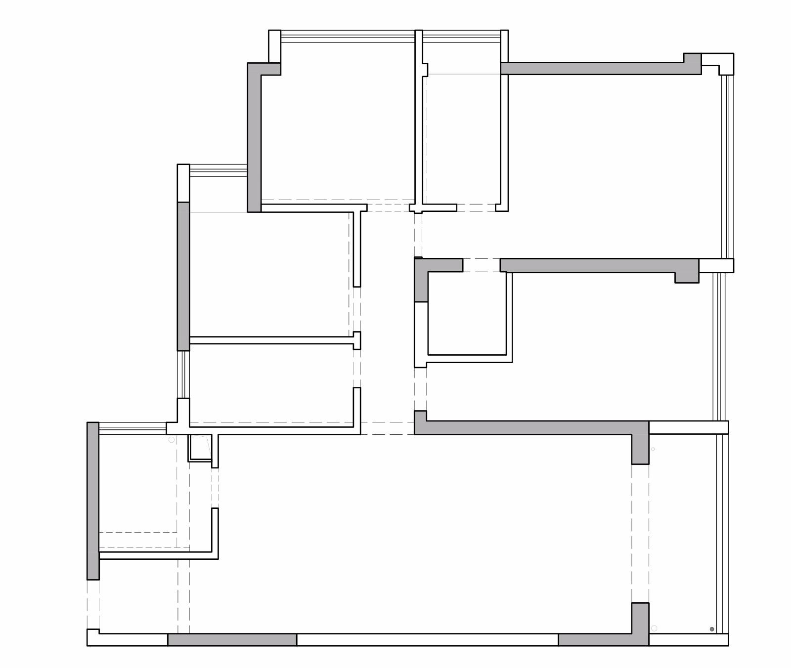 香山美墅126㎡-现代轻奢风格设计-三居室装修效果图装修设计理念