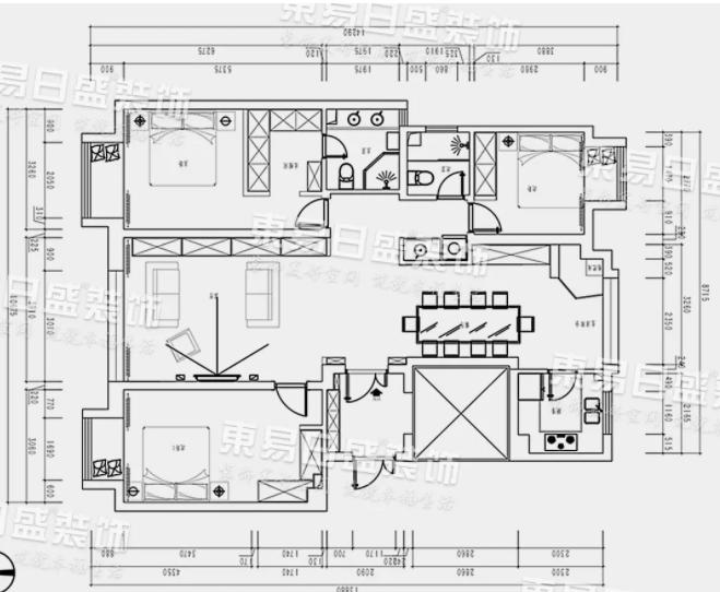海珀澜庭平面布置图