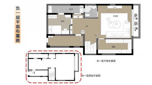 龙湖春江郦城225平下叠新中式风格装修设计理念