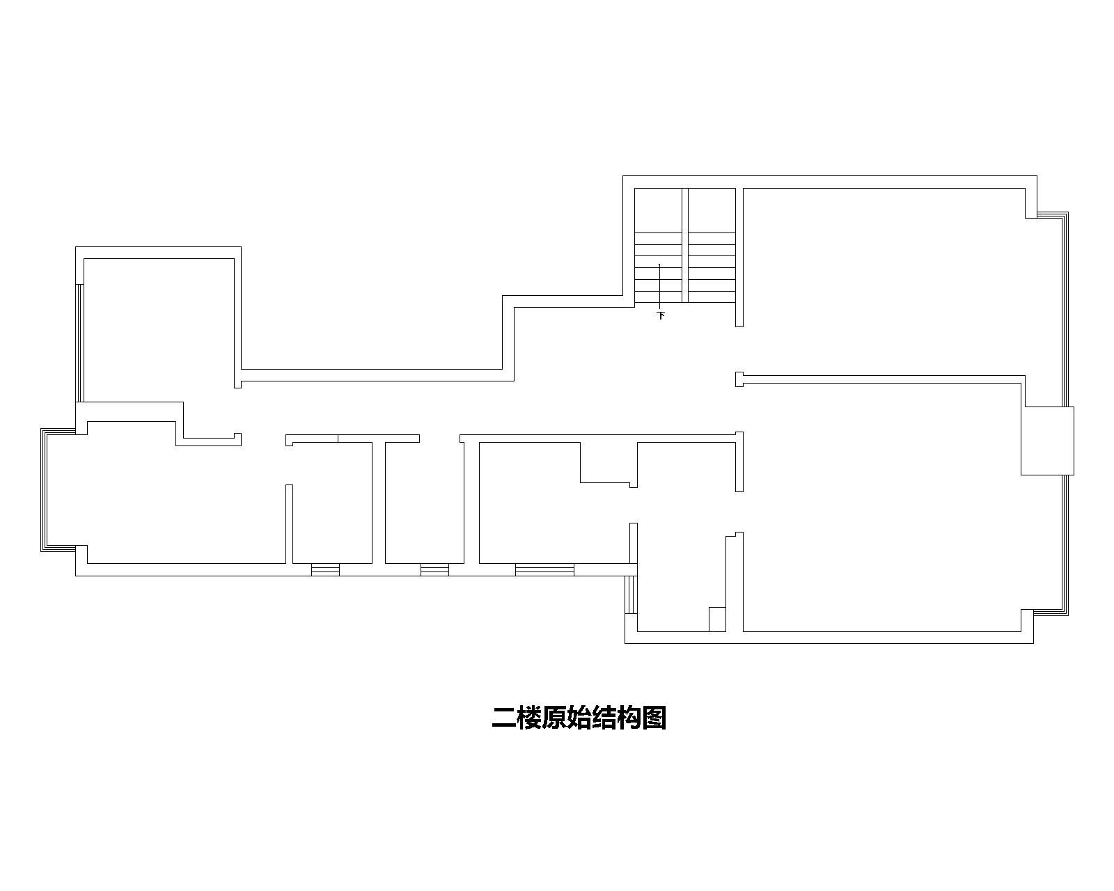 前海丹华-180平-现代简约-复式装修效果图装修设计理念
