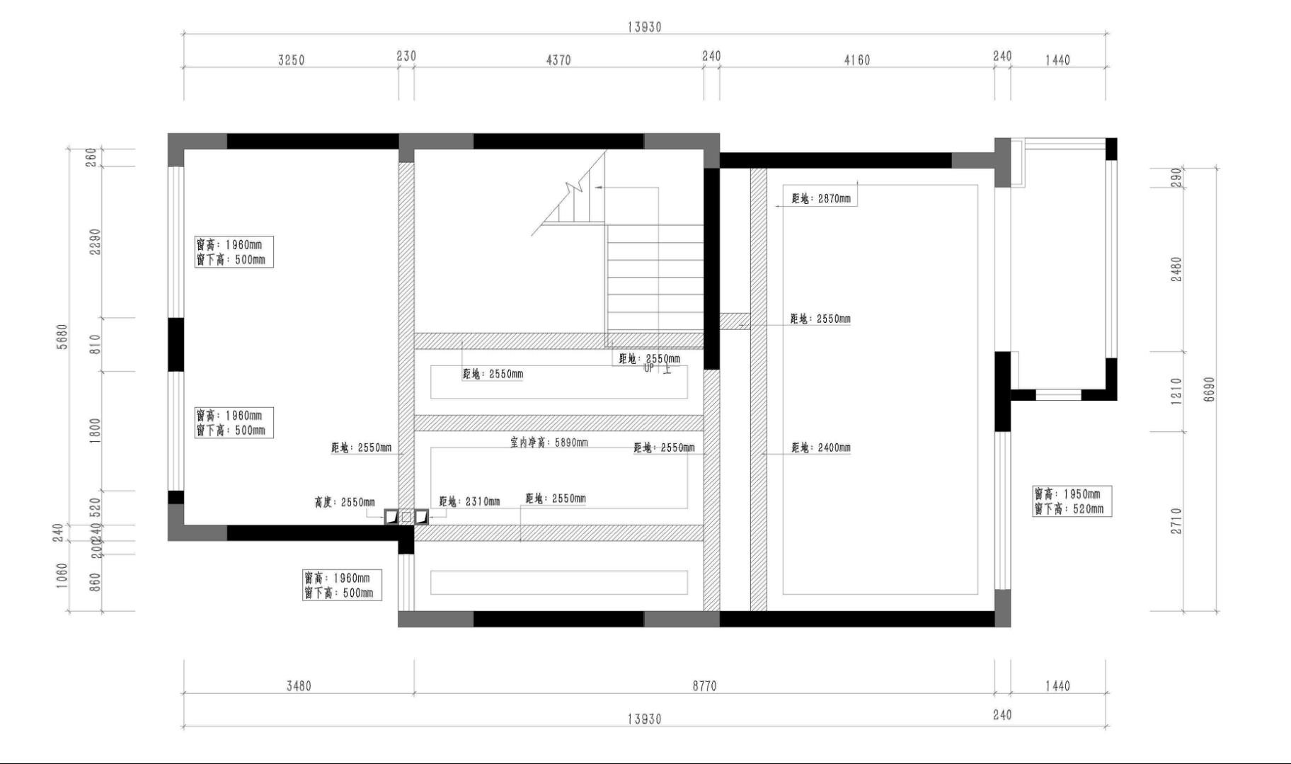 佛山凤起兰庭别墅338㎡现代风格装修效果图装修设计理念