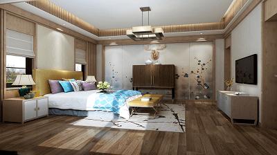 上海别墅装修公司-卧室装修