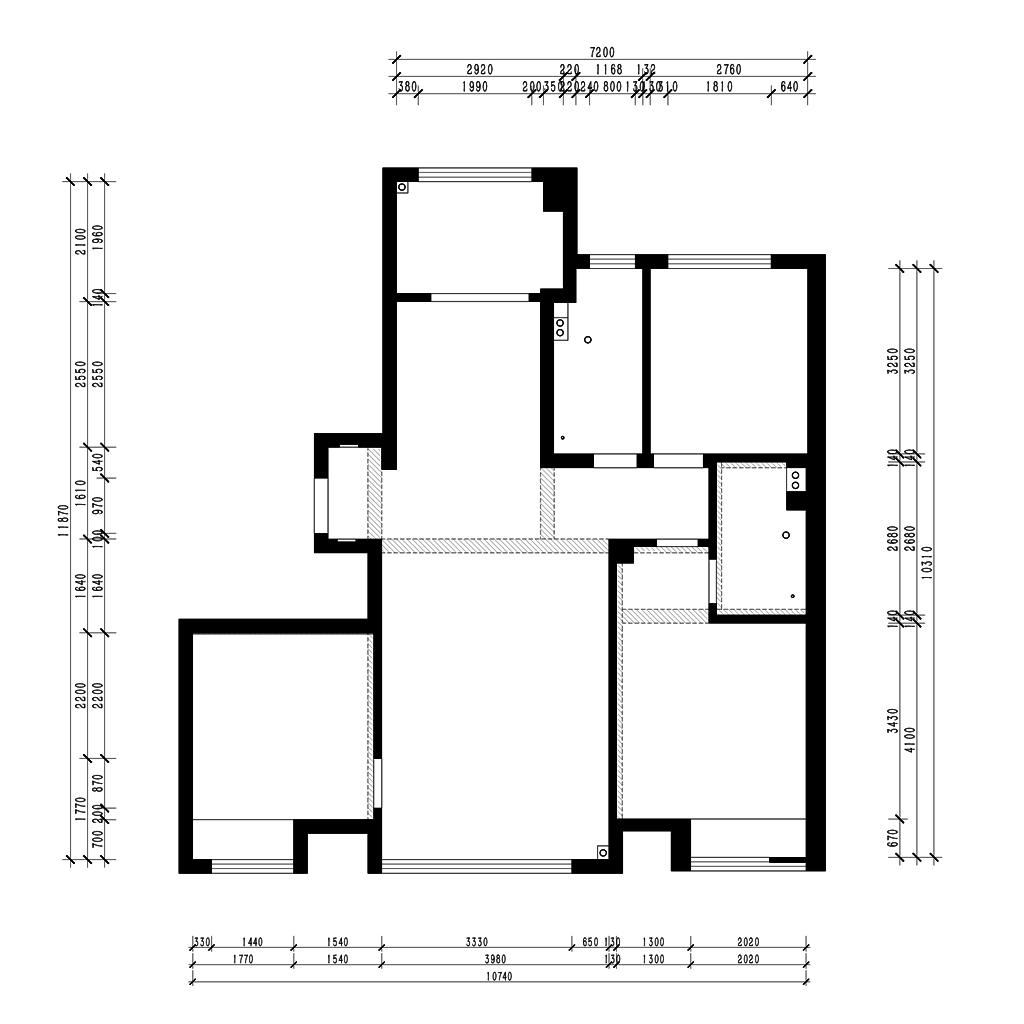 绿城兰园 125㎡ 现代简约装修设计理念