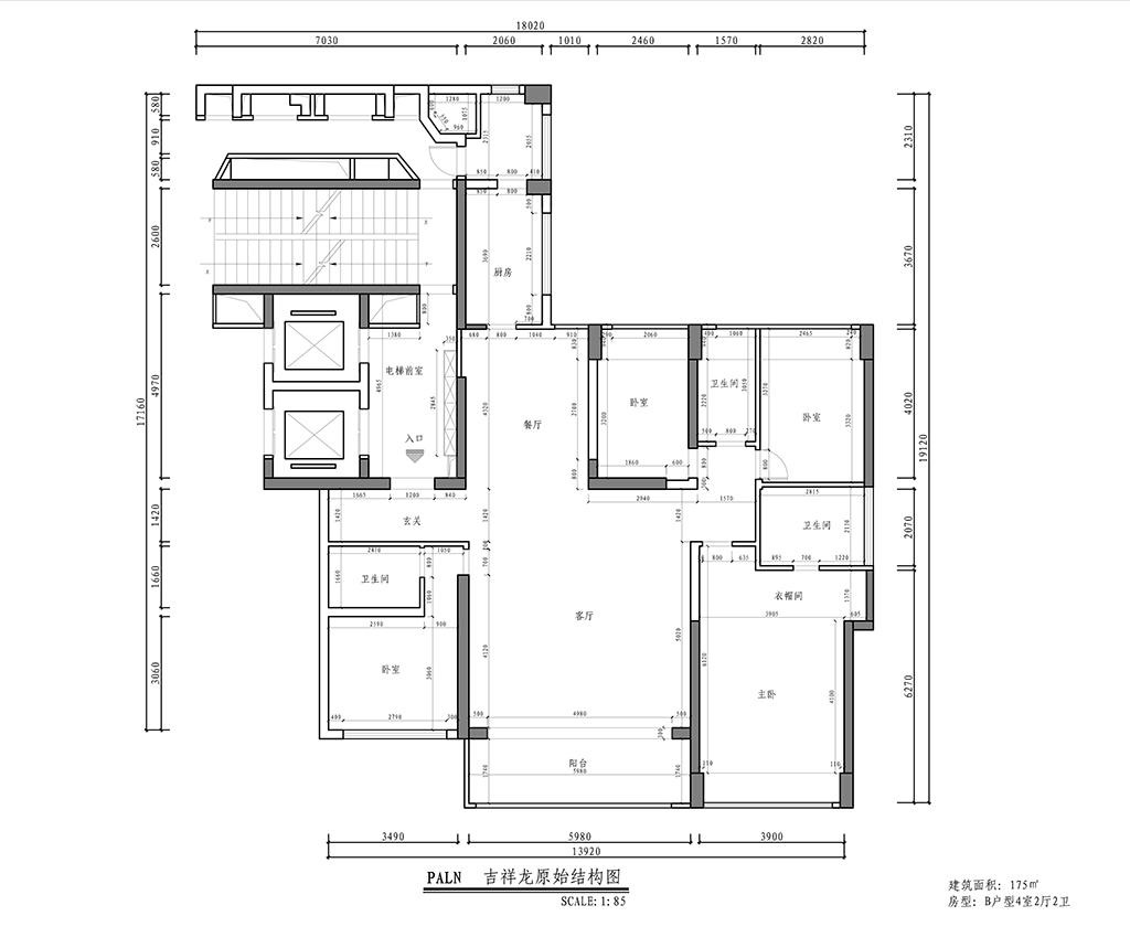 汉森·吉祥龙-欧式-260平-装修效果图装修设计理念