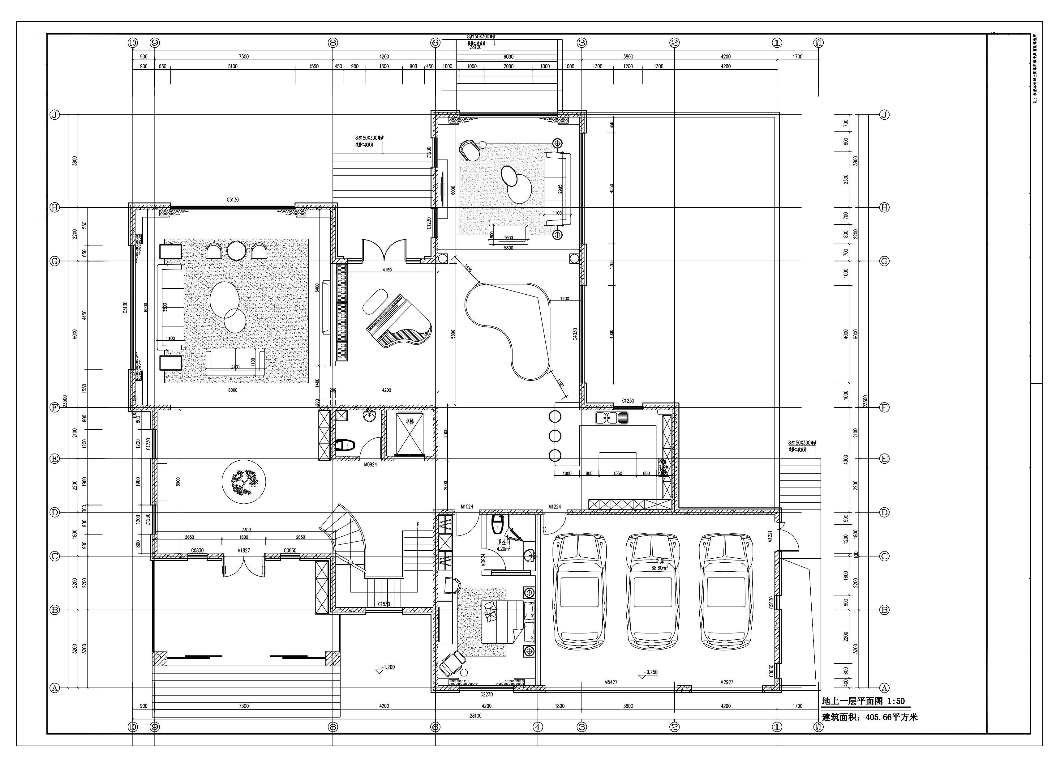自建别墅—欧式风格—1200平米装修设计理念