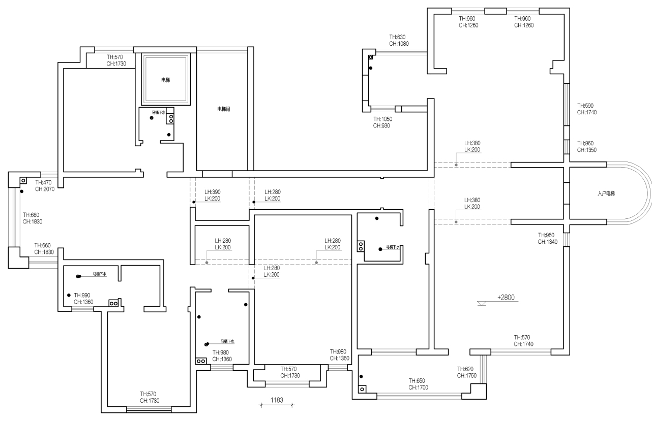荣盛·华府-268平米-现代极简装修设计理念