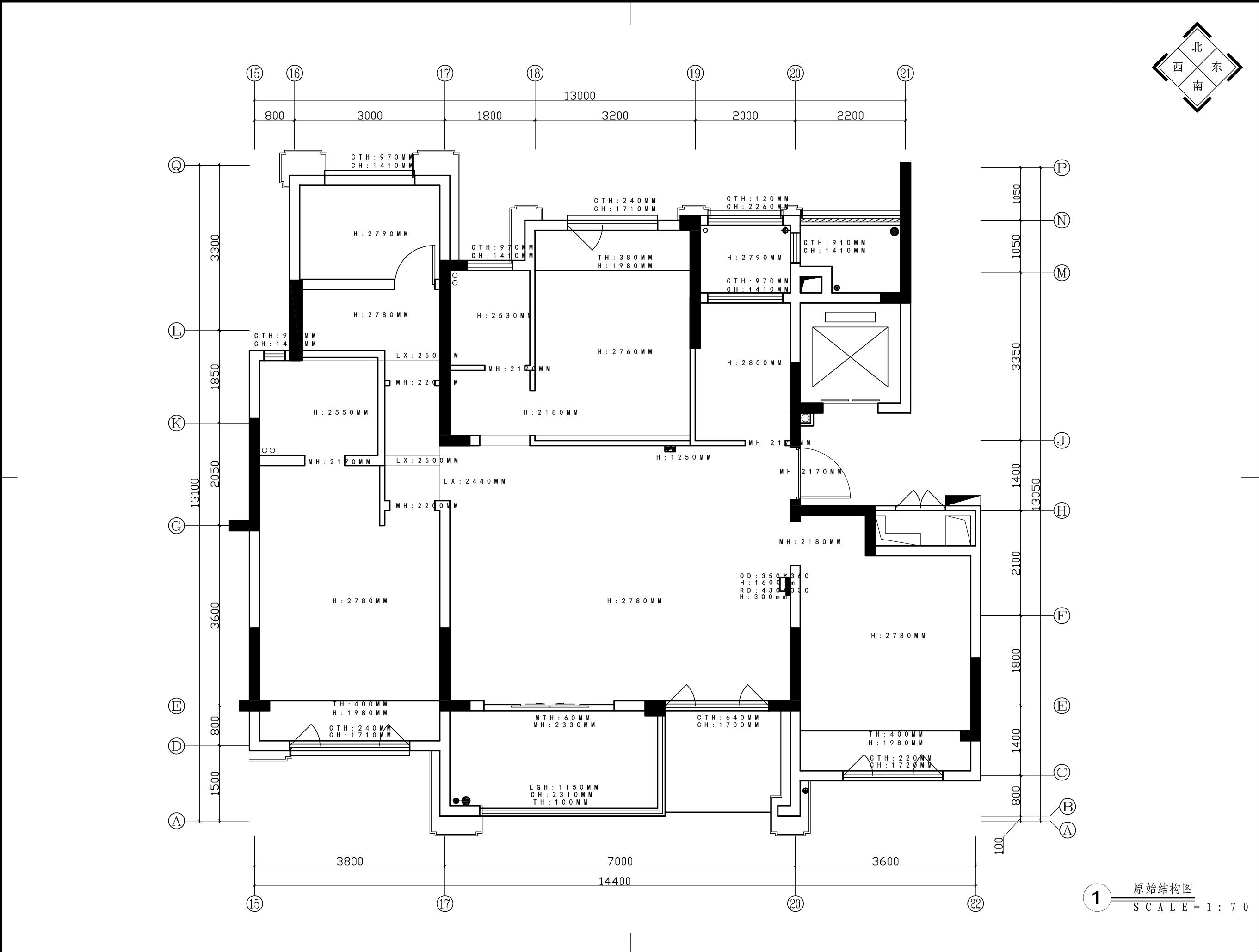 141平-新中式-狮山原著装修效果图装修设计理念