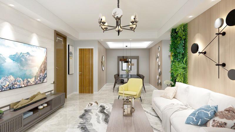 100平米装修风格有哪些-客厅