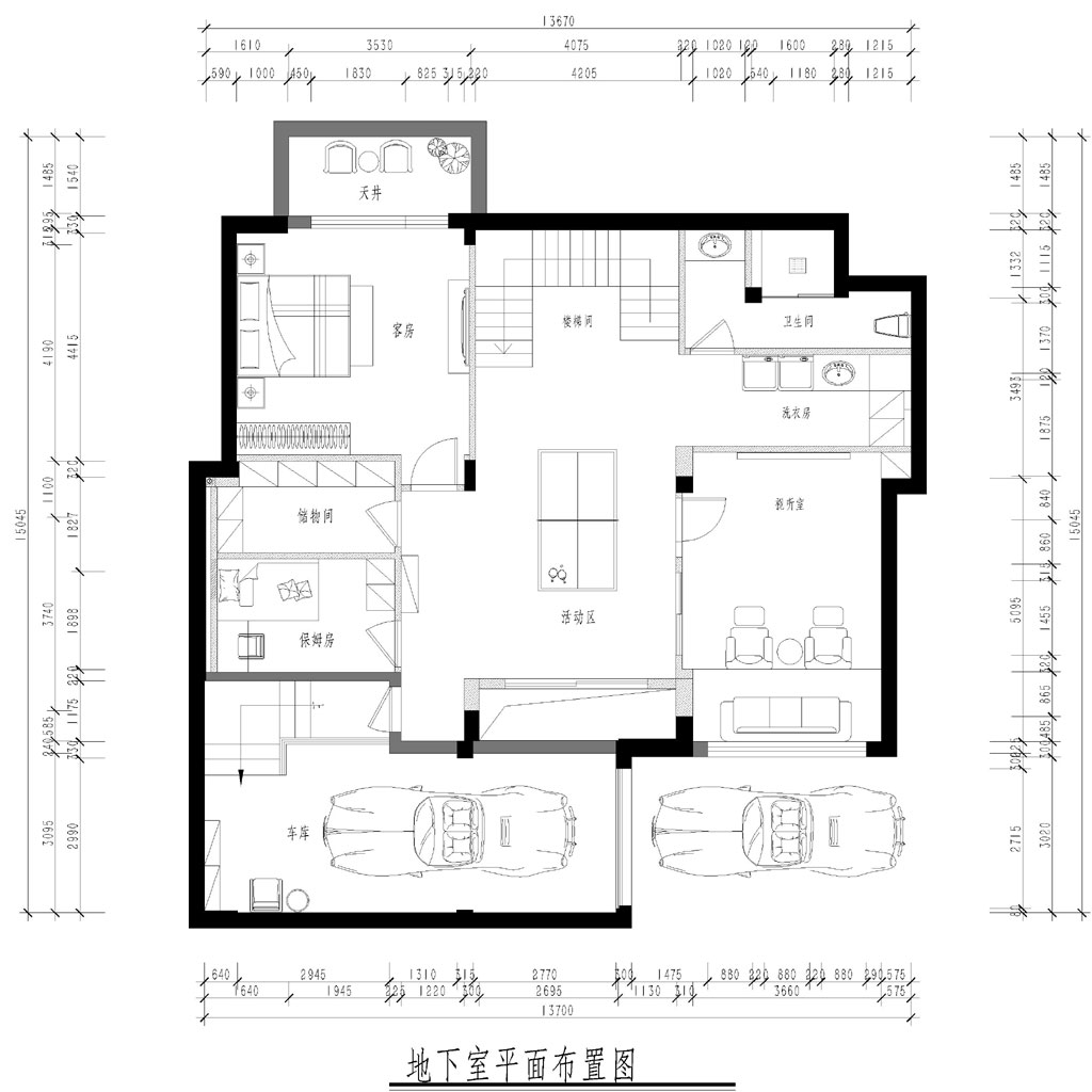 汤逊湖一号双拼别墅雅致主义装修效果图装修设计理念