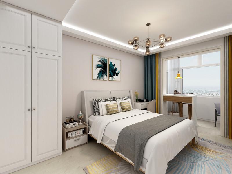 120平米房子装修-卧室