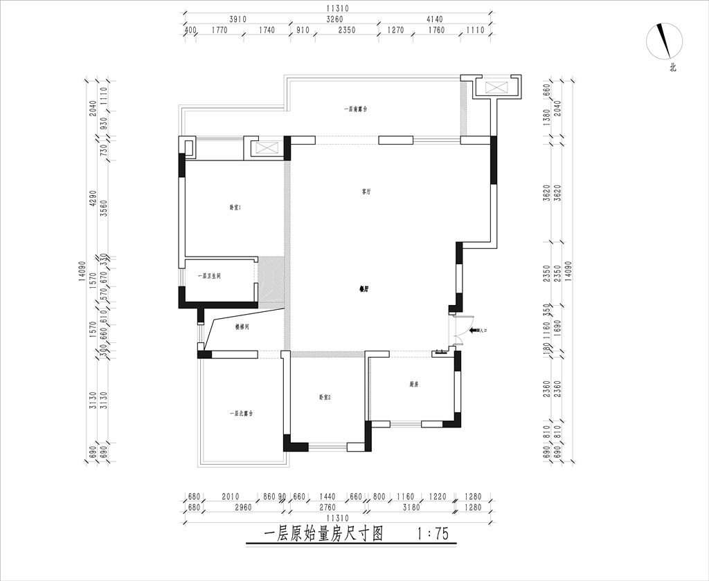绿地国际理想城230平新中式风格装修效果图装修设计理念
