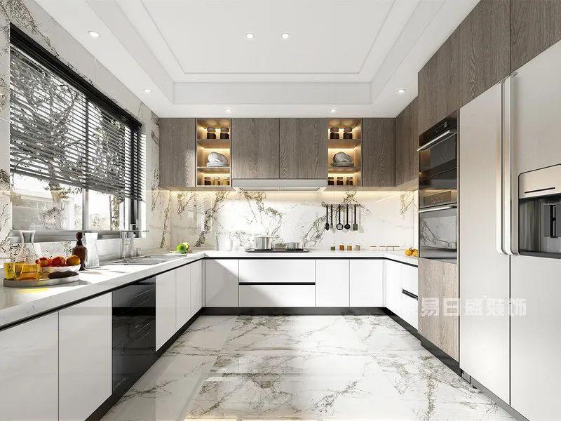270㎡现代轻奢厨房别墅设计