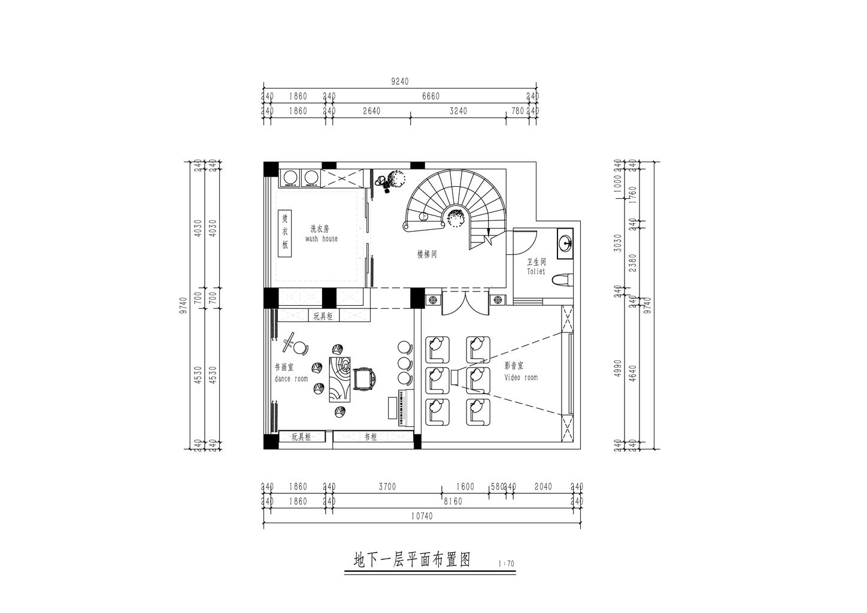 湘江壹號427平米簡歐風格別墅裝修設計理念