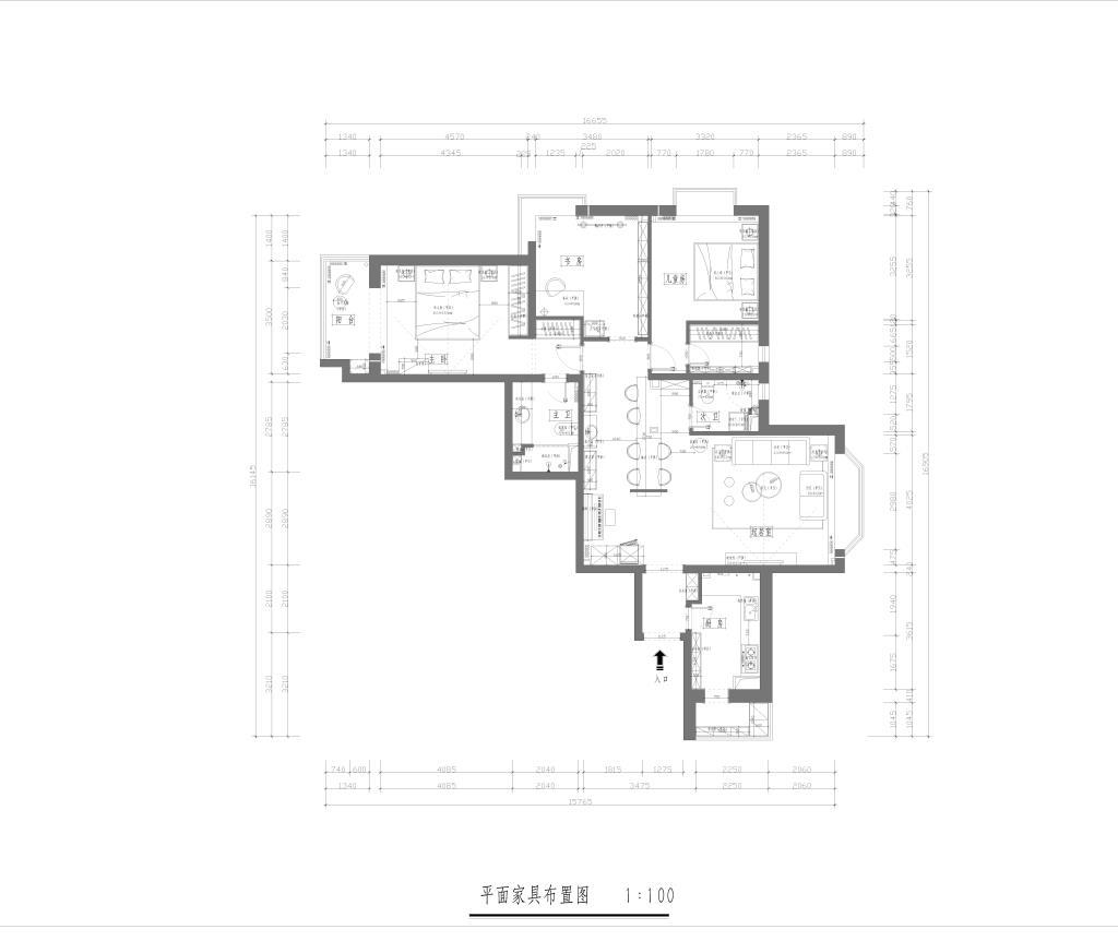 怡海花园 120平 中式装修设计理念