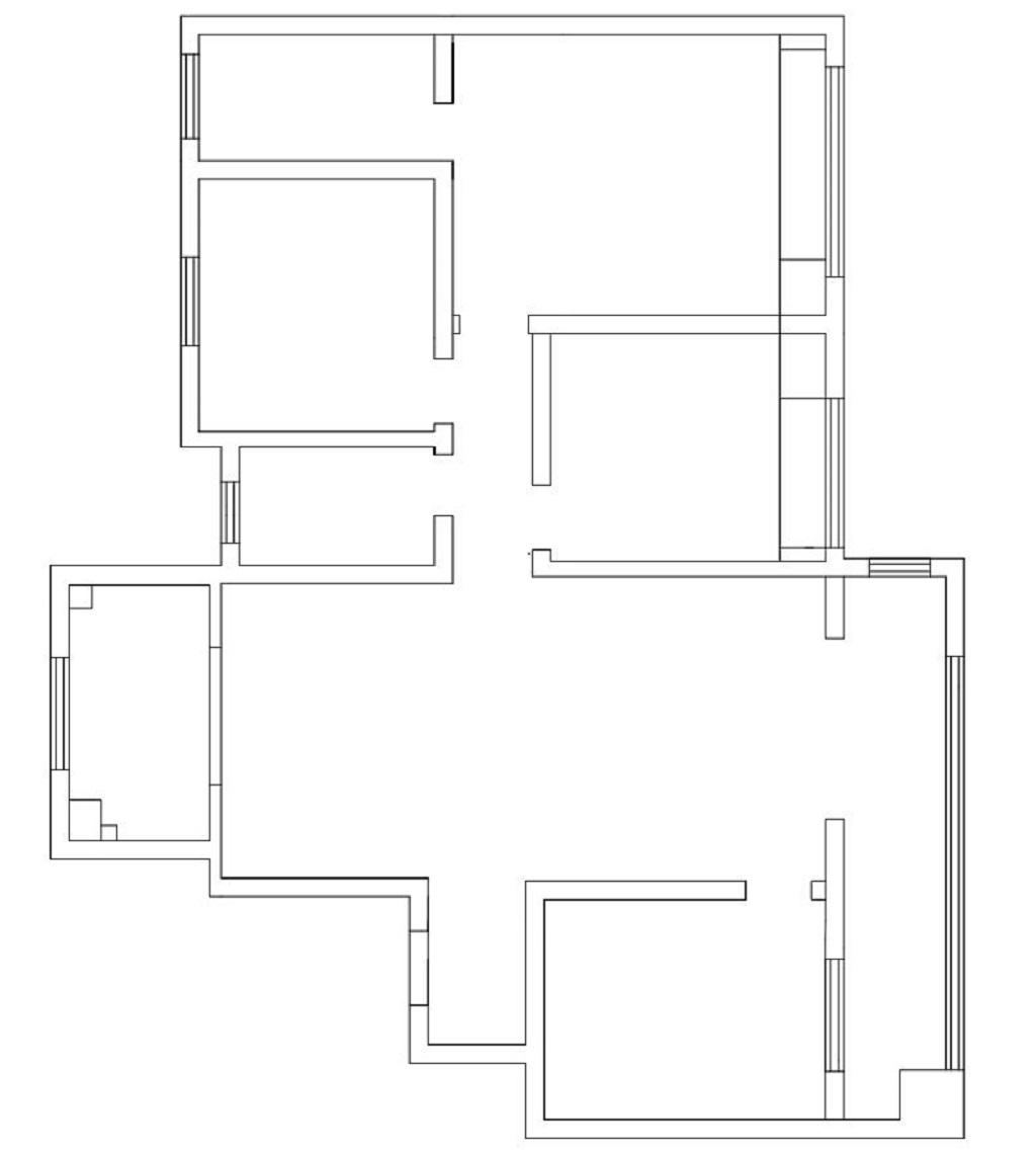 陶冲湖别院148平米新中式风格四室两厅装修案例装修设计理念