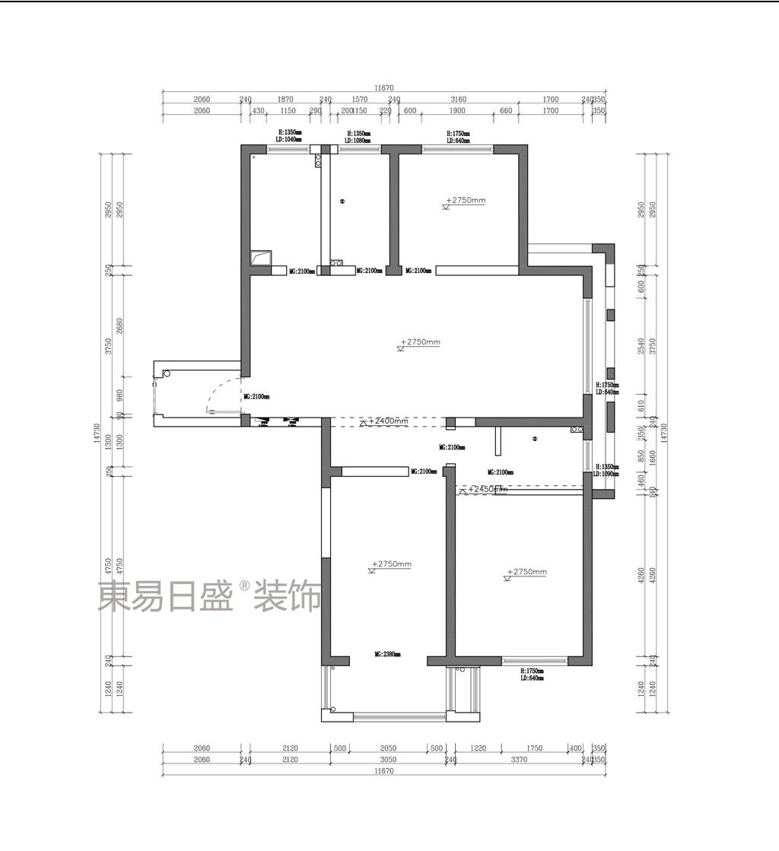 铭城花园  欧式  124平米装修设计理念
