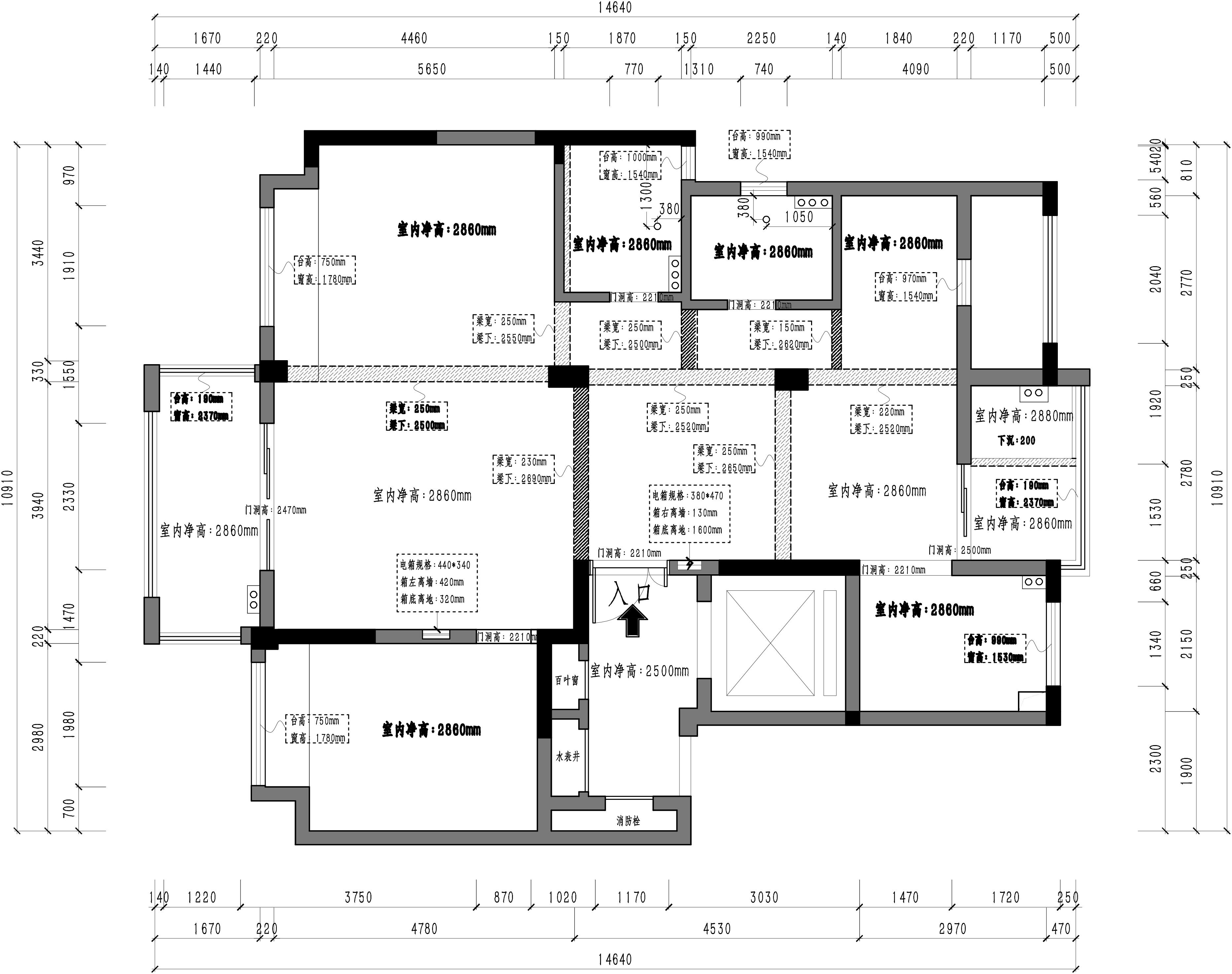 海塘府-122m²-经典美式装修设计理念
