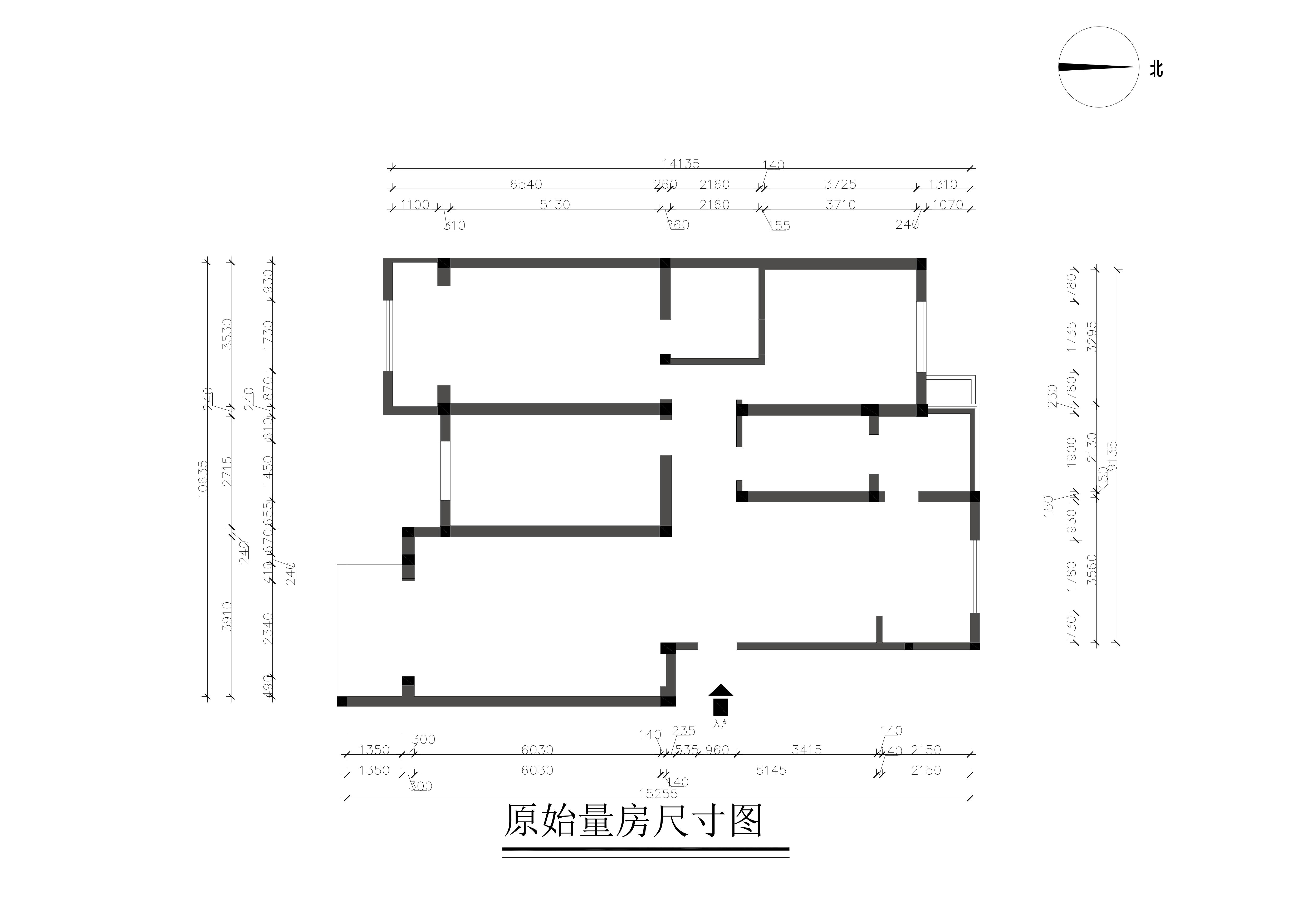 書香門第 158平米設計案例 新中式裝修效果圖裝修設計理念
