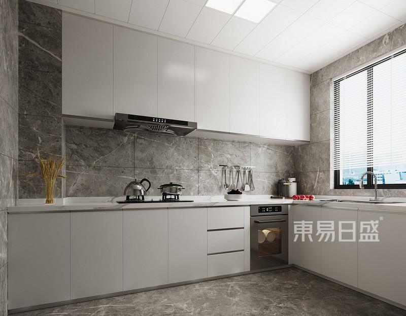 一体化的集成灶具有什么优点-厨房装修效果图