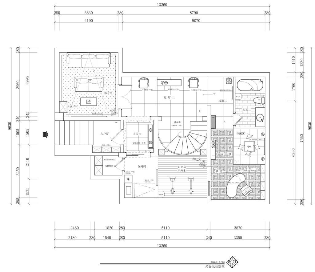 九台别墅奢华风格装修效果图装修设计理念