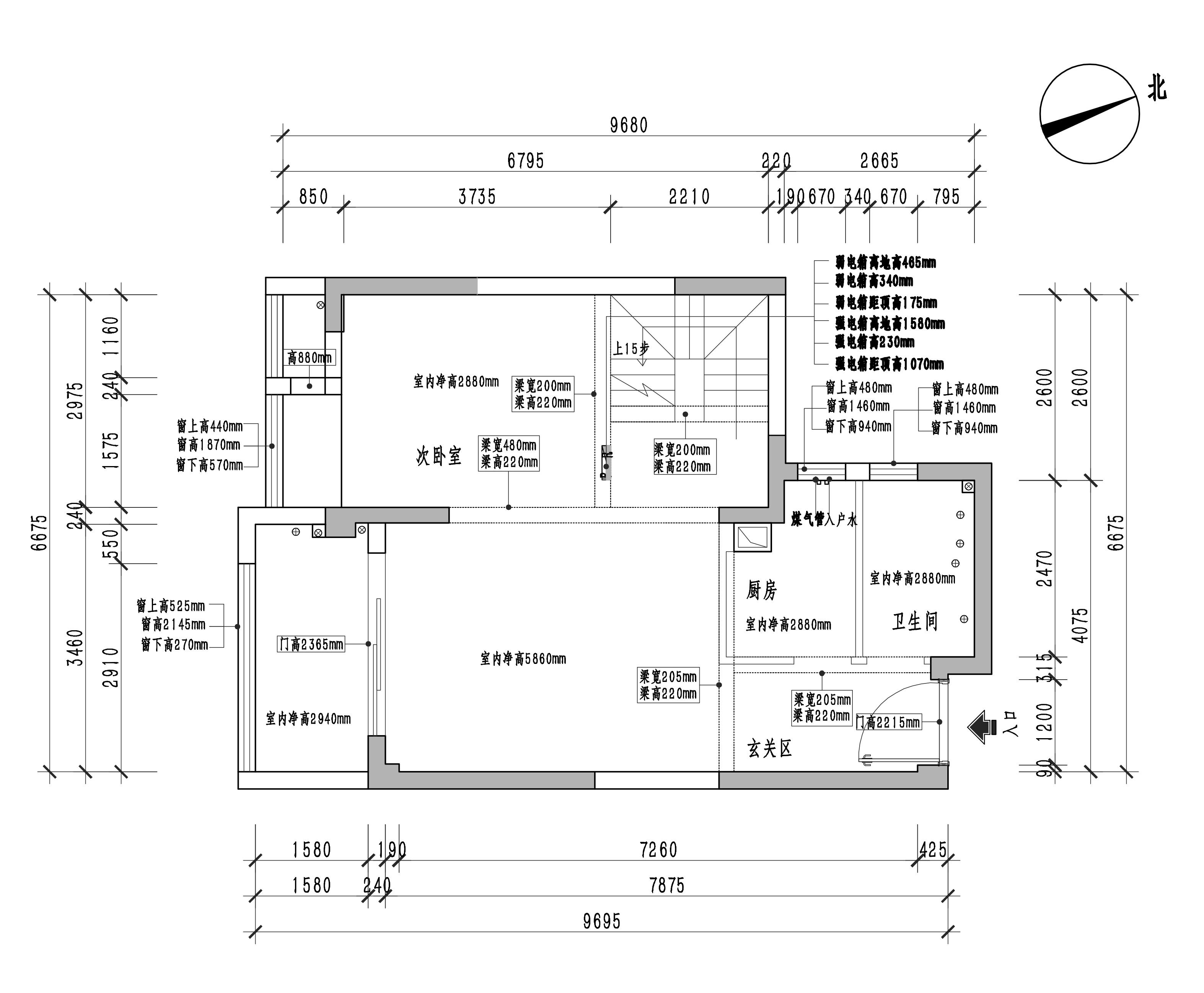 融侨悦城-北欧风格-122平米装修设计理念