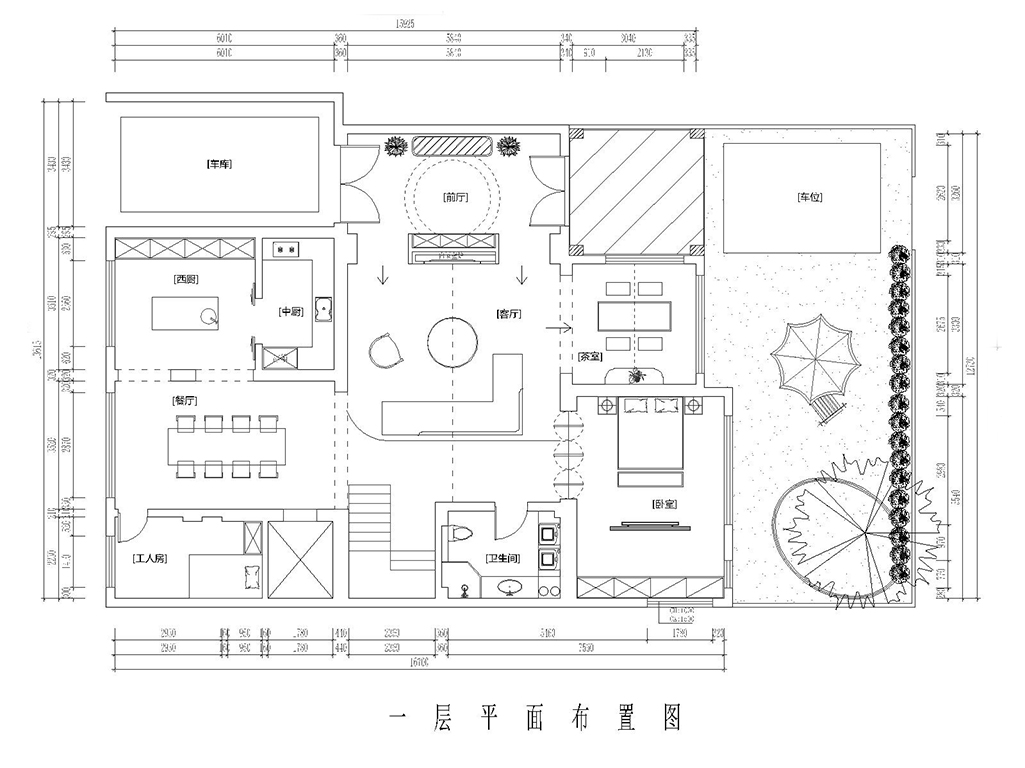 和安花园达观别墅-现代简约-330㎡装修设计理念