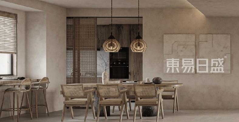 侘寂风格裝修效果圖赏析,打造低调雅致的家居空间