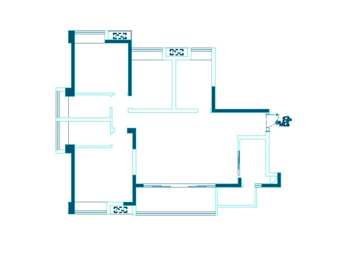 144平四居新中式风格丨东湖长岛装修案例装修设计理念