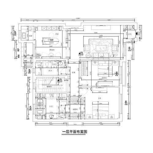第五郡六号地-简欧-300平装修设计理念