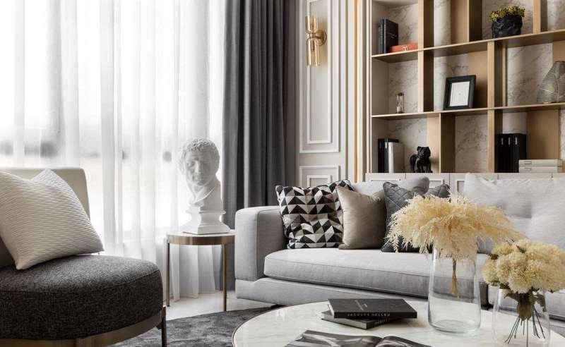 loft装修采用新古典风格,创造生活美学