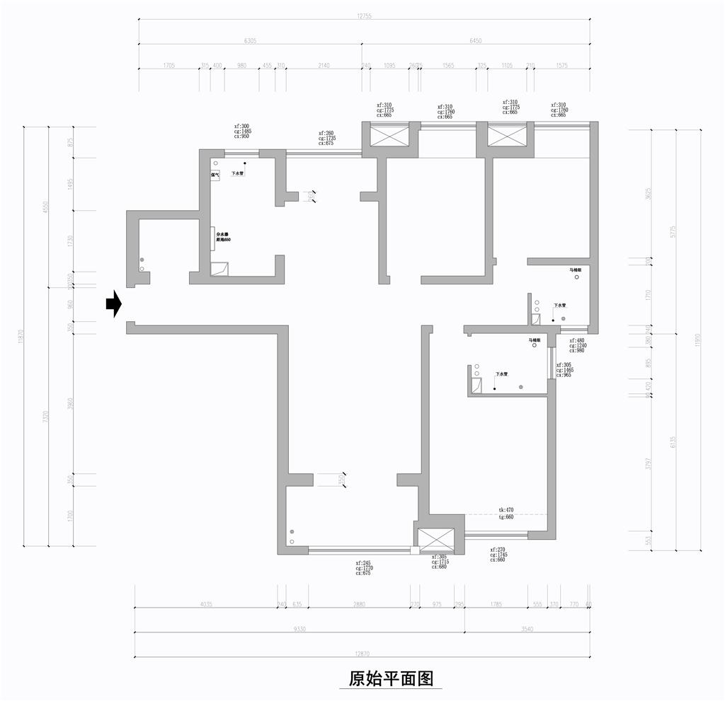铂悦山-现代简约-137平米装修设计理念