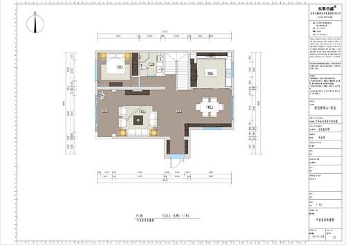 兰州保利领秀山_313平米_古典欧式风格别墅装修效果图装修设计理念