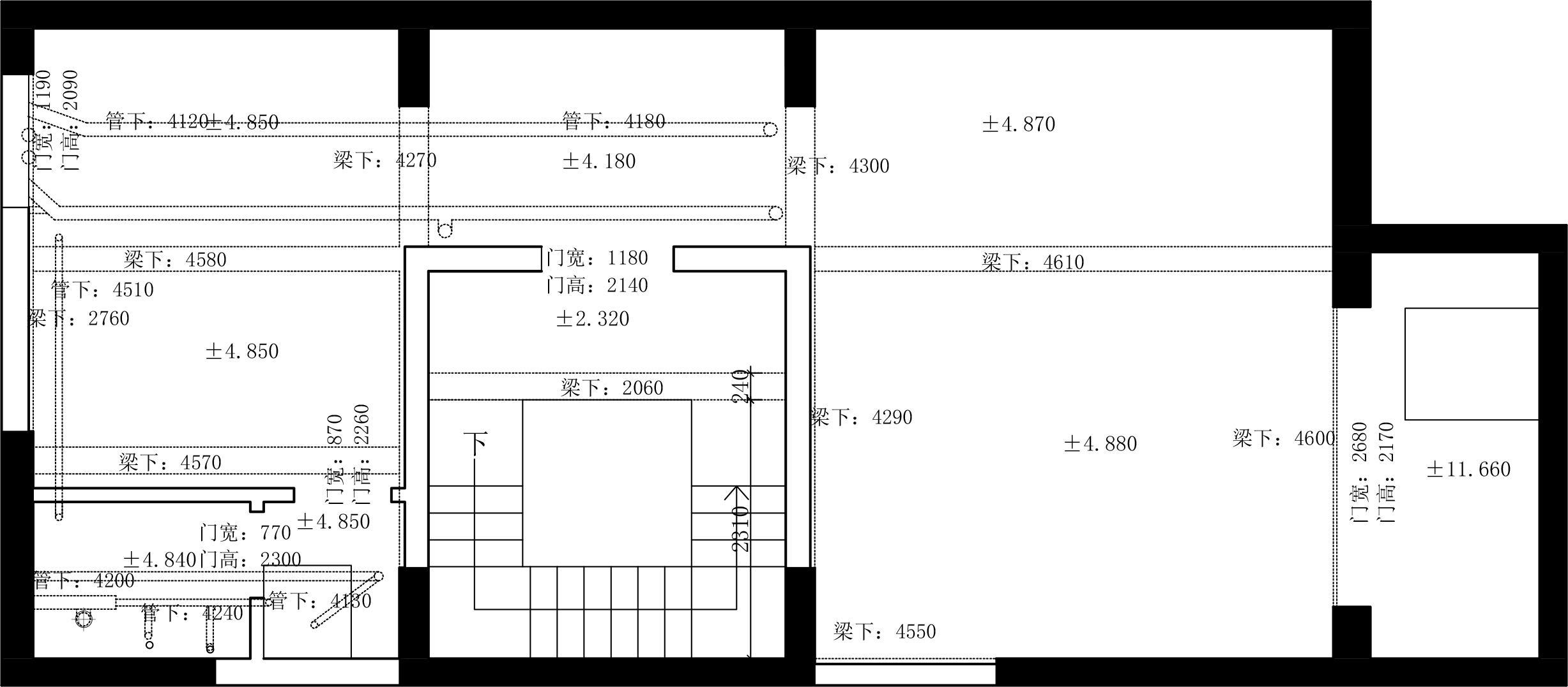 巩义建业春天里350平方装修现代轻奢风格设计效果图装修设计理念